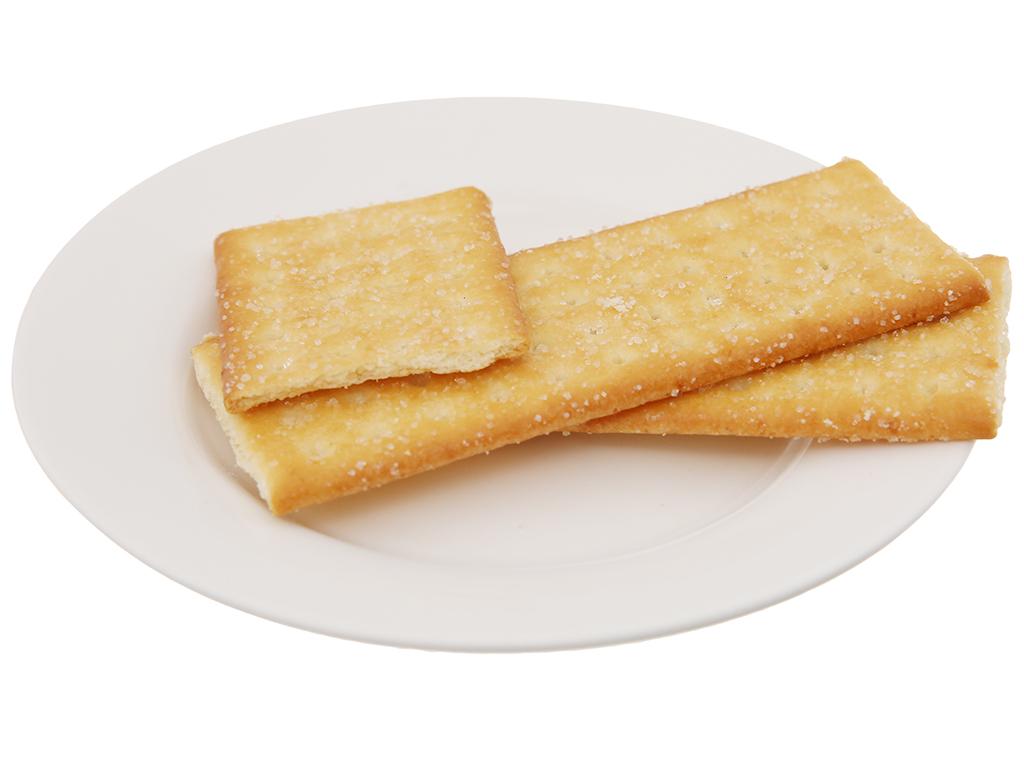 Bánh quy Coconut Carcker phủ đường gói 180g 4