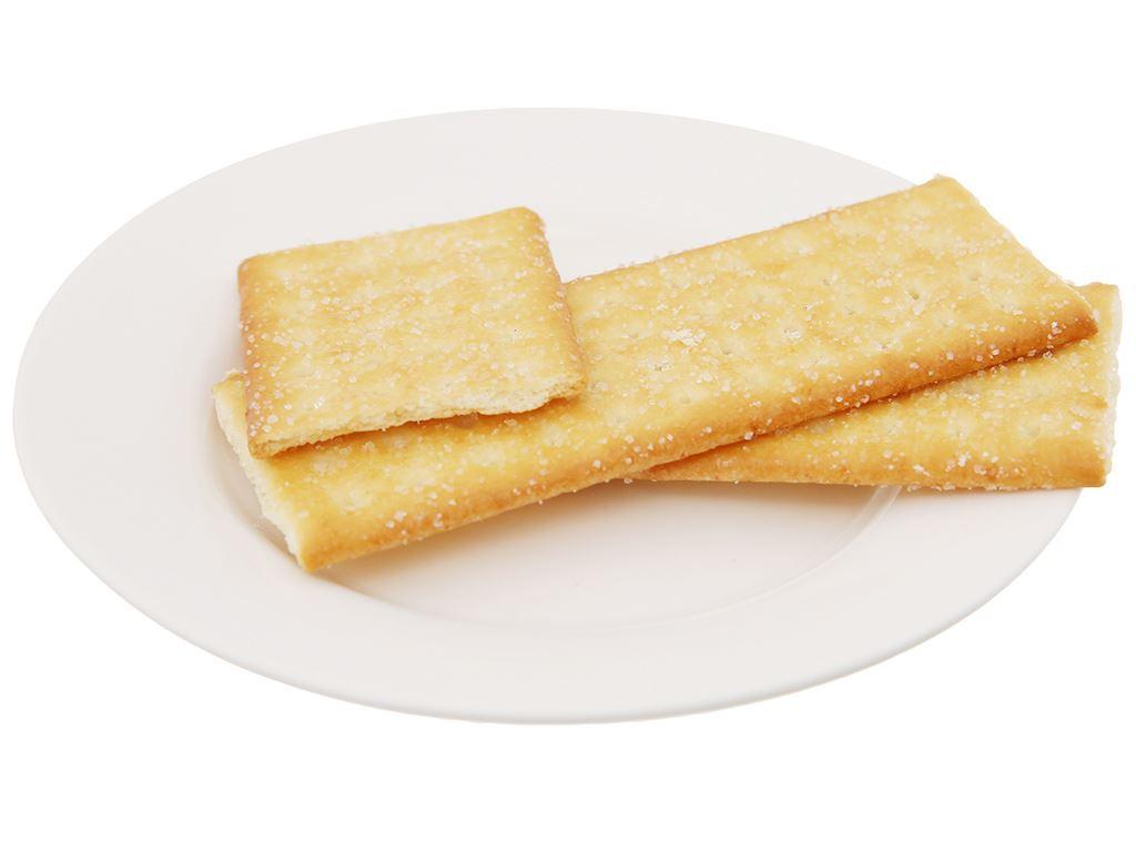 Bánh quy phủ đường Coconut Cracker gói 180g 4