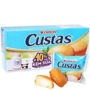 Bánh kem sữa Custas hộp 141g (6 cái)