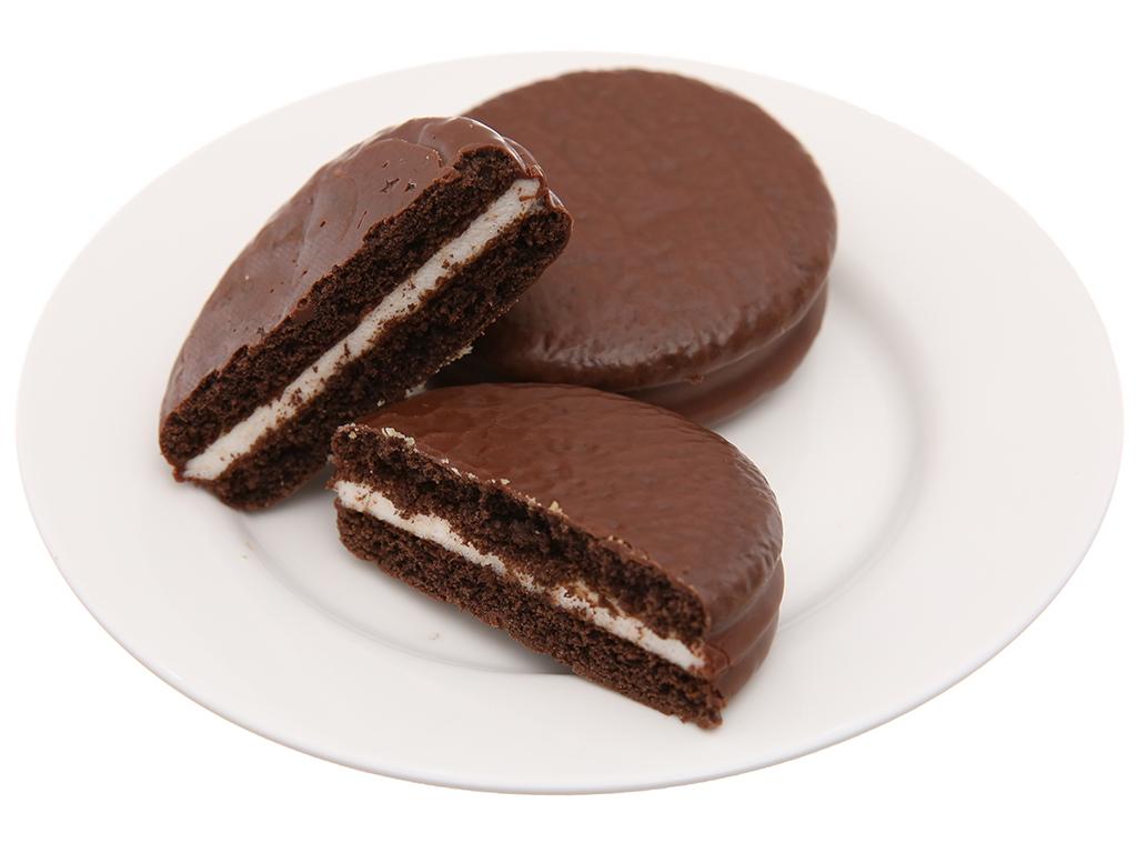 Hộp 2 bánh vị ca cao Choco-Pie Dark 30g 4