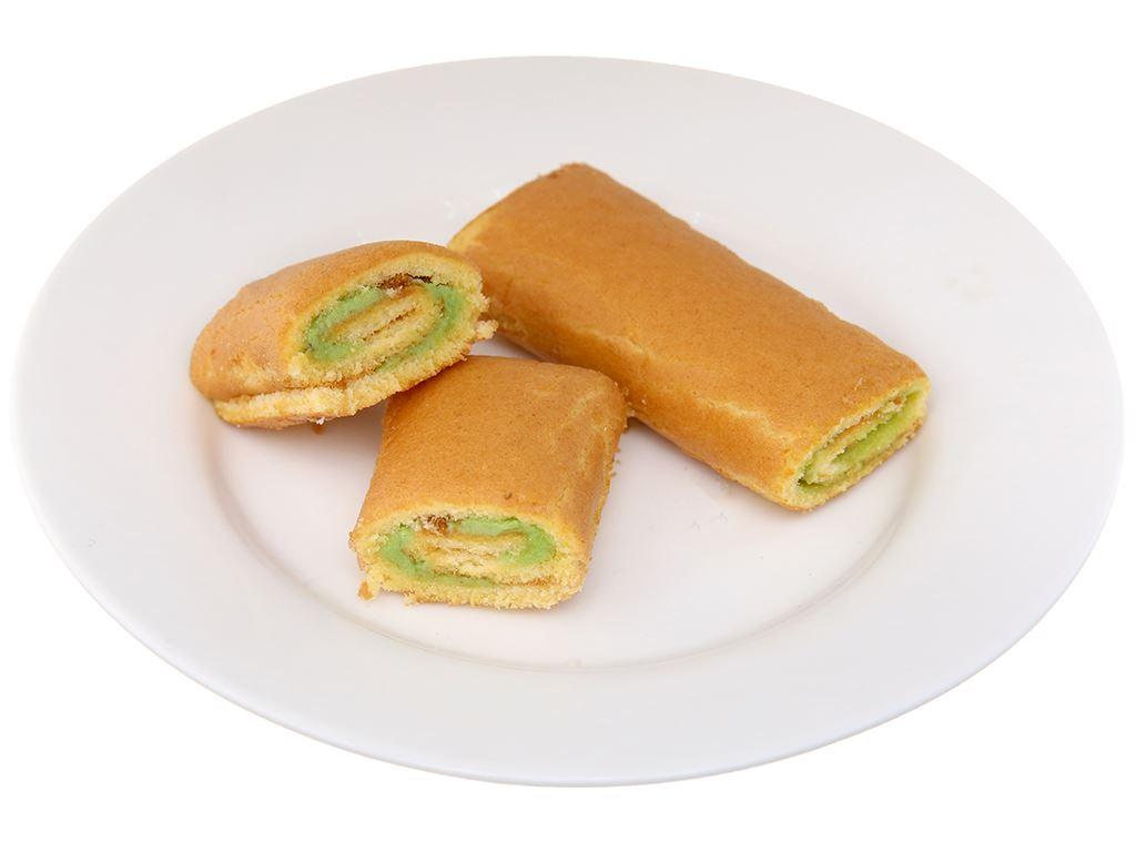 Bánh trứng cuộn kem hương cốm Hura hộp 360g (20 cái) 4