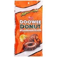Bánh Donut Doowee Rebisco phủ socola nhân mứt cam 360g (12 cái)