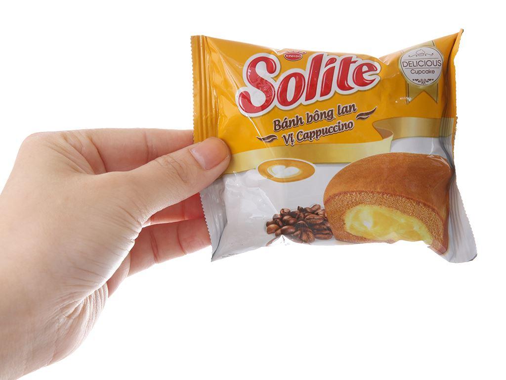Bánh bông lan vị cappuccino Solite hộp 46g (2 cái) 3