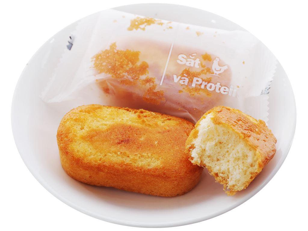 Bánh bông lan sợi thịt gà Orion C'est Bon gói 85g (5 bánh) 3