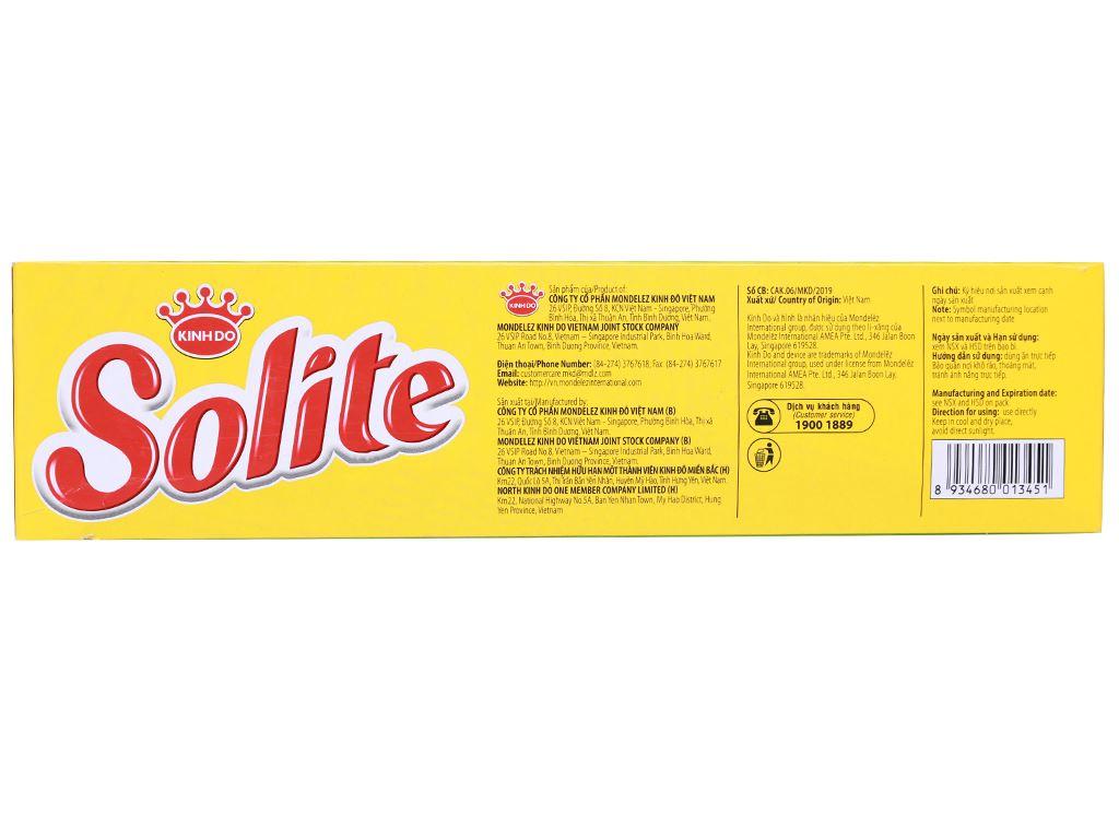 Bánh bông lan cuộn kem vị lá dứa Solite hộp 288g (16 cái) 3