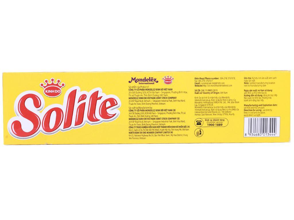 Bánh bông lan cuộn kem vị socola Solite hộp 288g (16 cái) 3