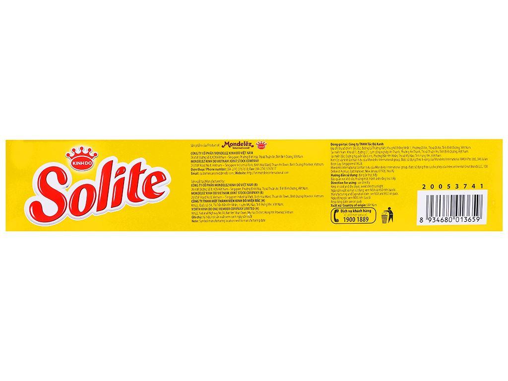 Bánh bông lan cuộn kem socola và lá dứa Solite hộp 360g 3