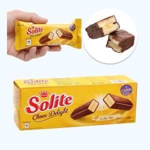 Bánh phủ socola vị bơ sữa Solite hộp 120g