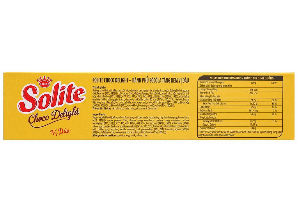 Bánh phủ socola vị dâu Solite hộp 120g 3