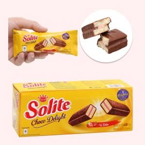 Bánh phủ socola vị dâu Solite hộp 120g