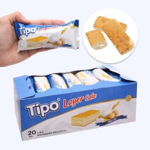 Bánh bông lan kem sữa Tipo hộp 360g