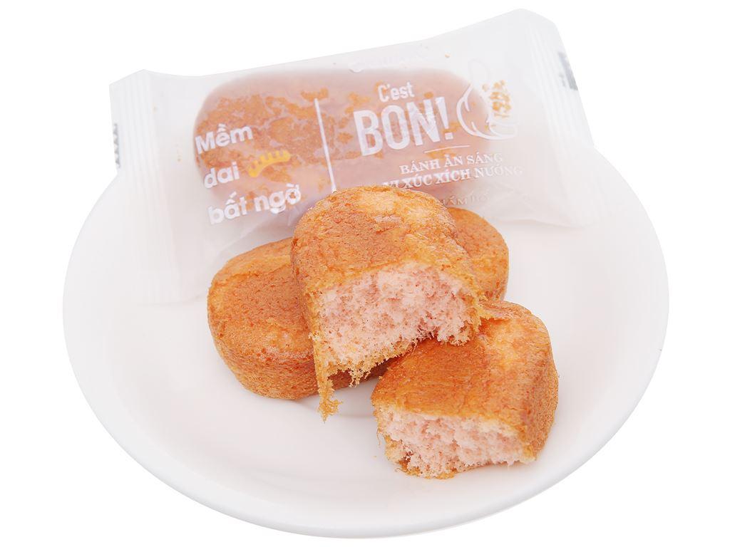 Bánh bông lan vị xúc xích nướng Orion C'est Bon gói 85g (5 bánh) 6