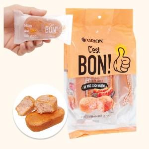 Bánh bông lan vị xúc xích nướng Orion C'est Bon gói 85g (5 bánh)