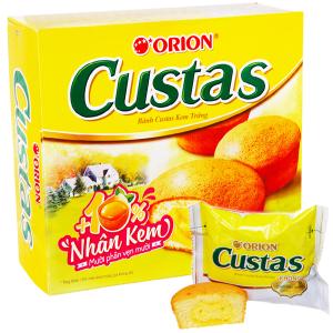 Bánh kem trứng Custas hộp 282g (12 cái)