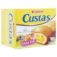 Bánh bông lan nhân kem trứng Custas 47g (2 cái)