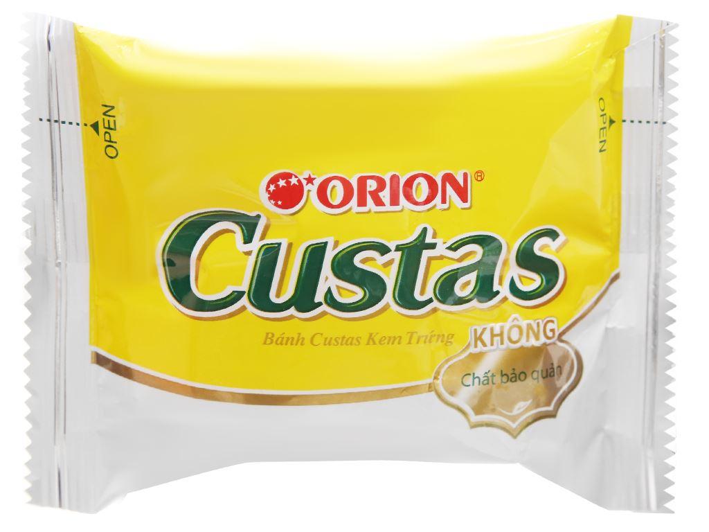 Bánh kem trứng Custas hộp 47g (2 cái) 10