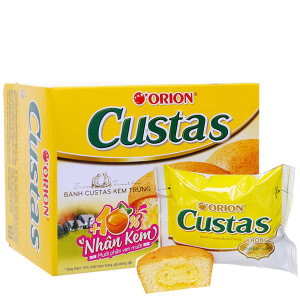 Bánh kem trứng Custas hộp 47g (2 cái)
