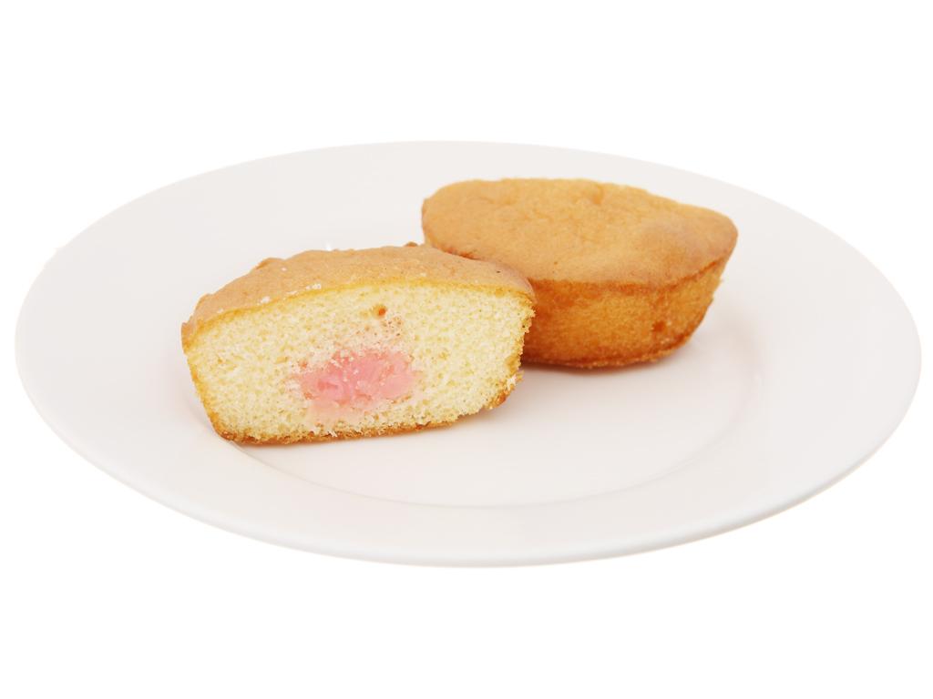 Bánh bông lan kem vị dâu Solite hộp 360g (20 cái) 5