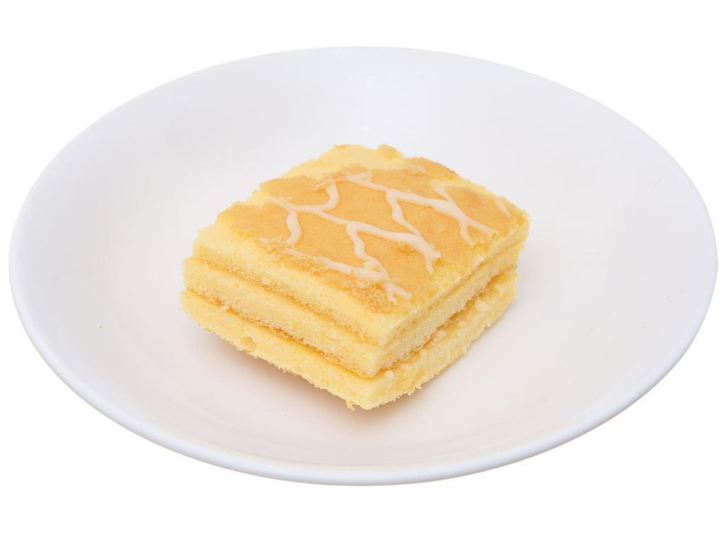 Bánh bông lan hương bơ sữa Hura Deli hộp 168g (6 cái) 5