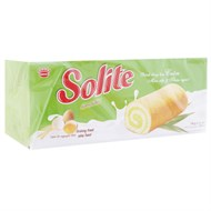 Bánh bông lan cuộn kem lá dứa Solite 360g (20 cái)
