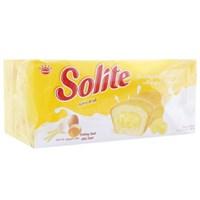 Bánh bông lan nhân kem bơ sữa Solite 360g (20 cái)