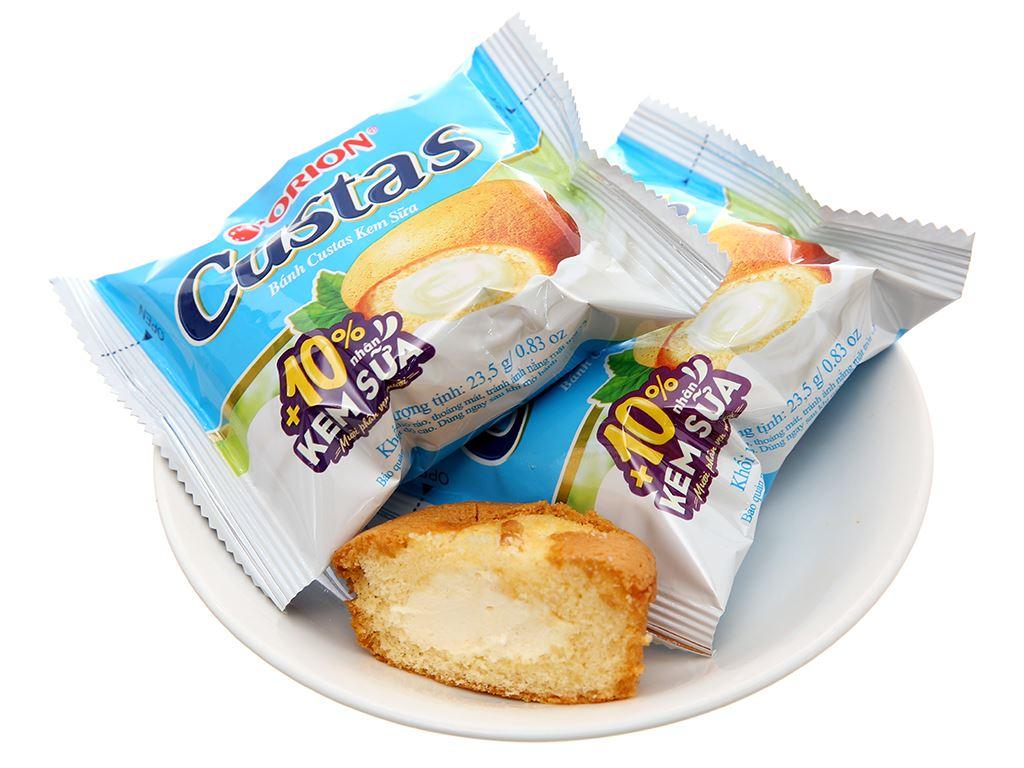 Bánh kem sữa Custas hộp 282g (12 cái) 4