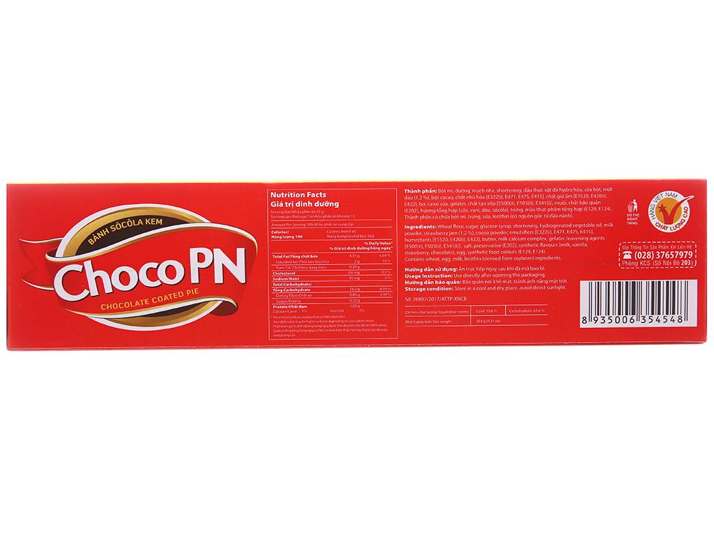 Bánh Choco P&N nhân kem dâu 264g 12 cái 3