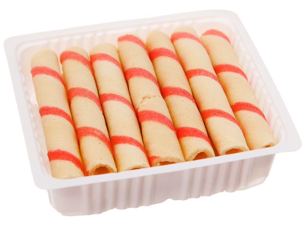 Bánh quế vị kem dâu Cosy gói 48g 4