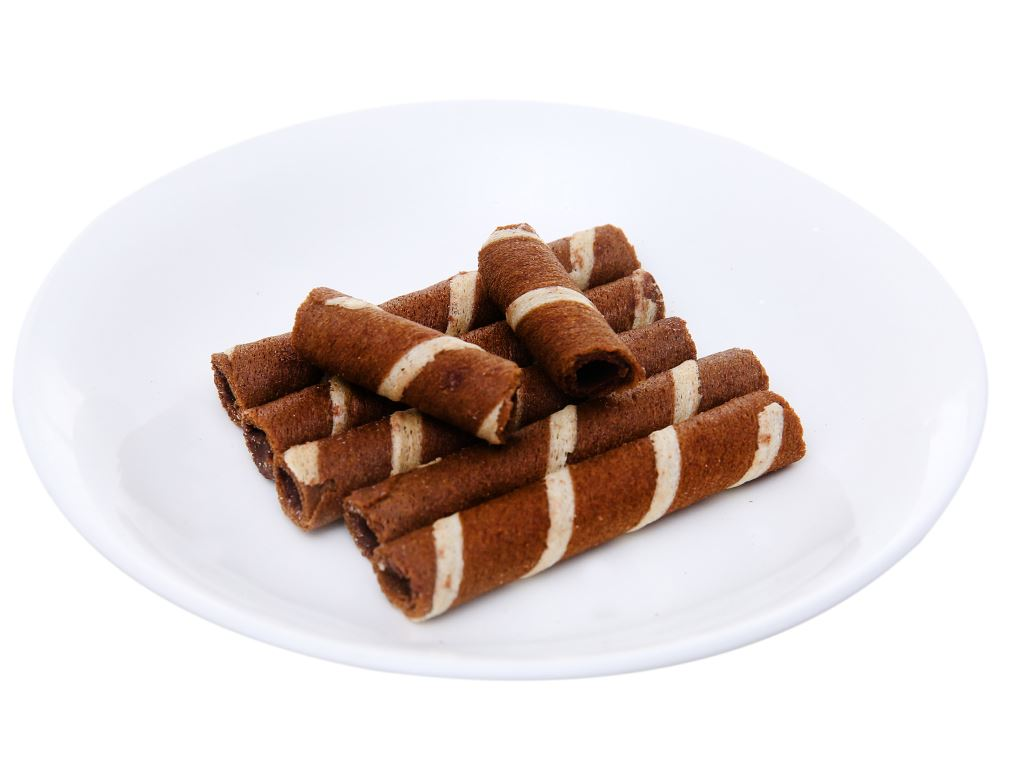 Bánh quế vị kem sô cô la Cosy gói 48g 7
