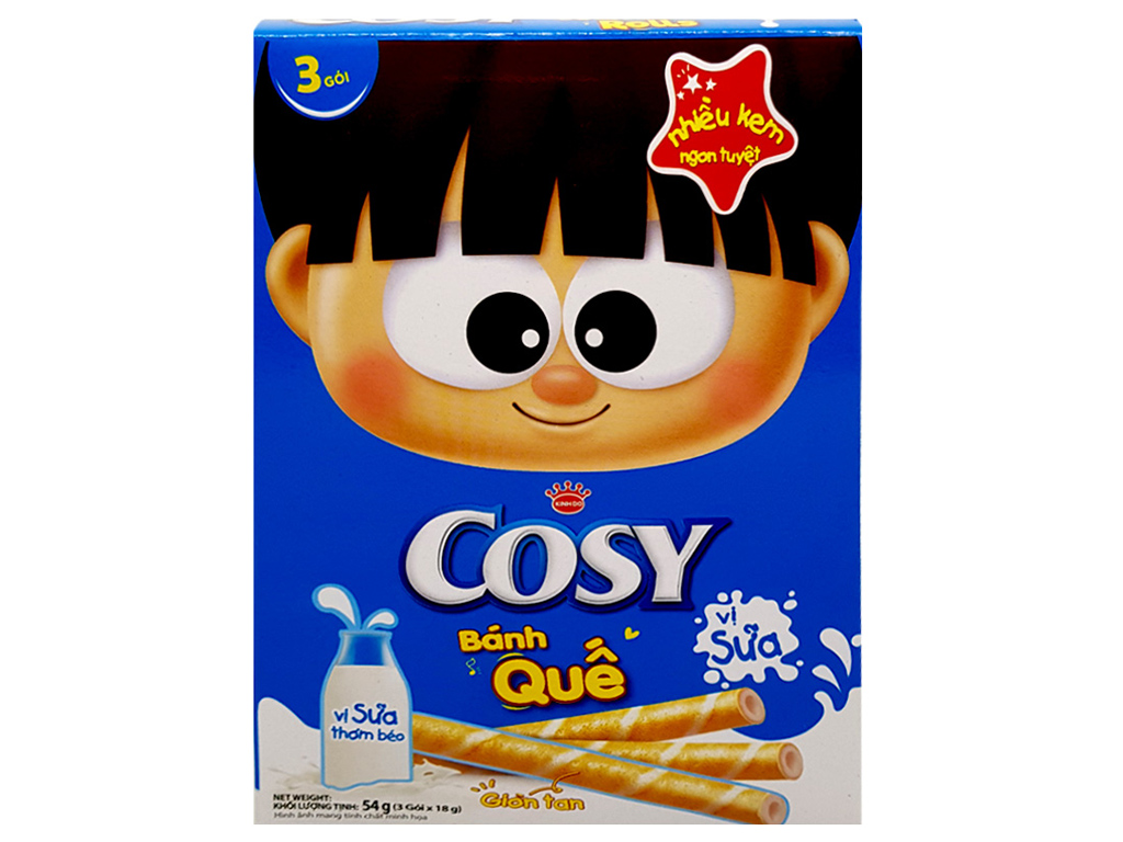 Bánh quế Cosy 54g 2