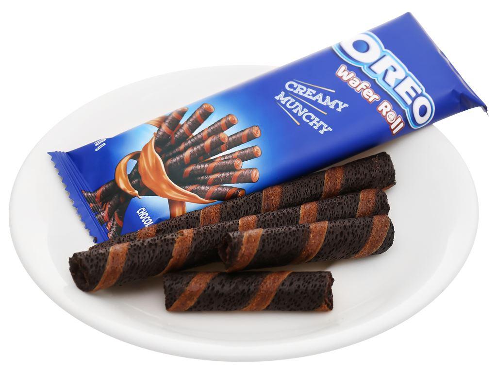 Hộp 3 gói bánh quế sô cô la Wafer Roll Oreo 18g 13