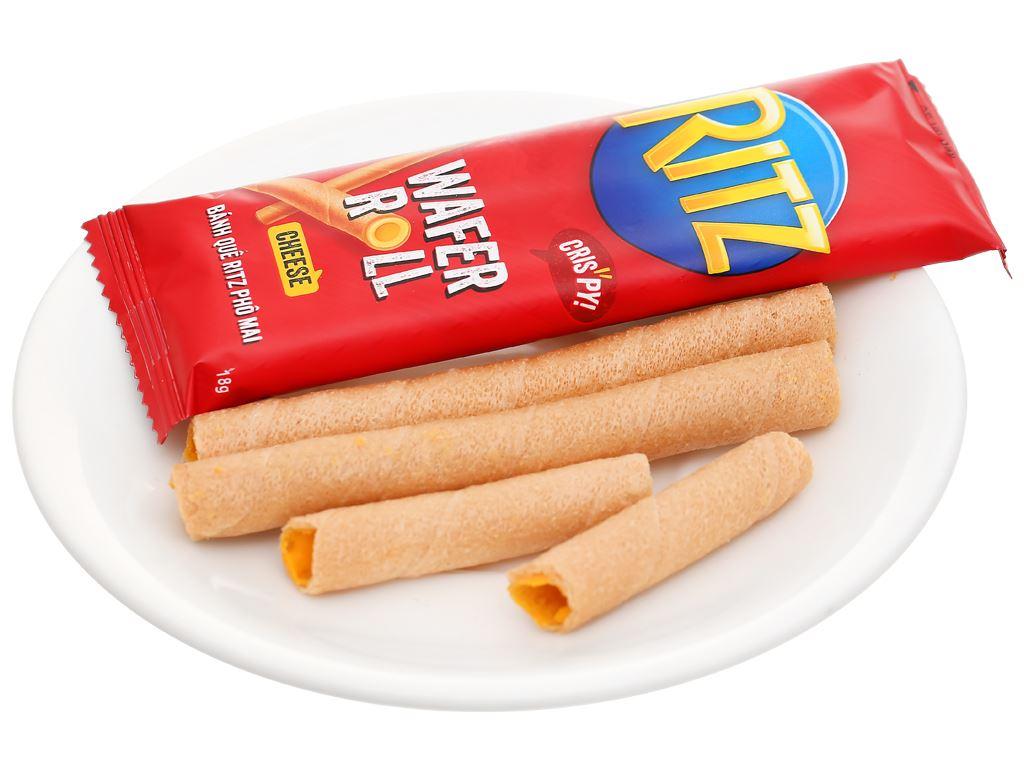 Bánh quế nhân phô mai Ritz hộp 54g 13