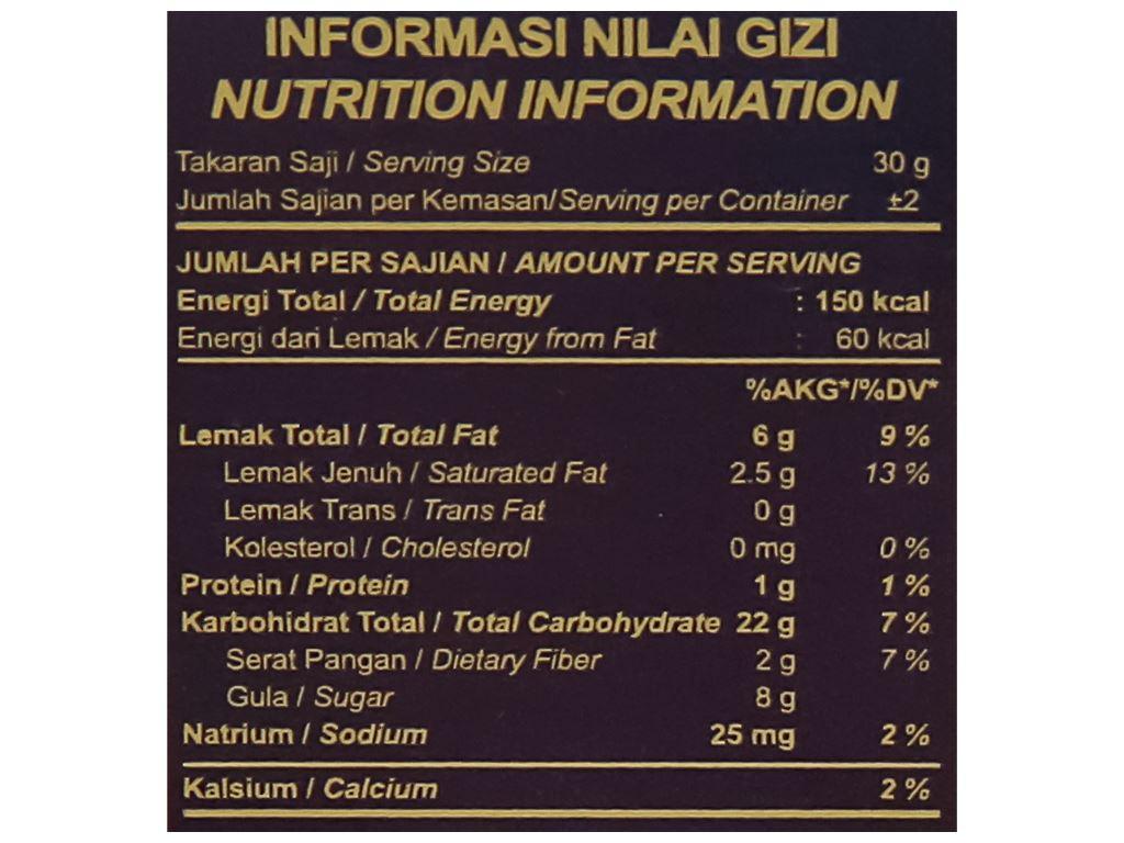 Bánh quế nhân socola đậu phộng Deka Wafer Roll hộp 45g 5