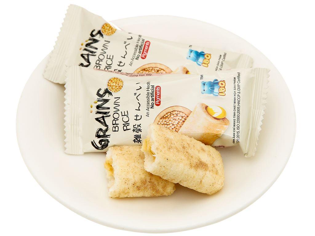 Bánh ngũ cốc vị nguyên chất I.B.O gói 150g 5