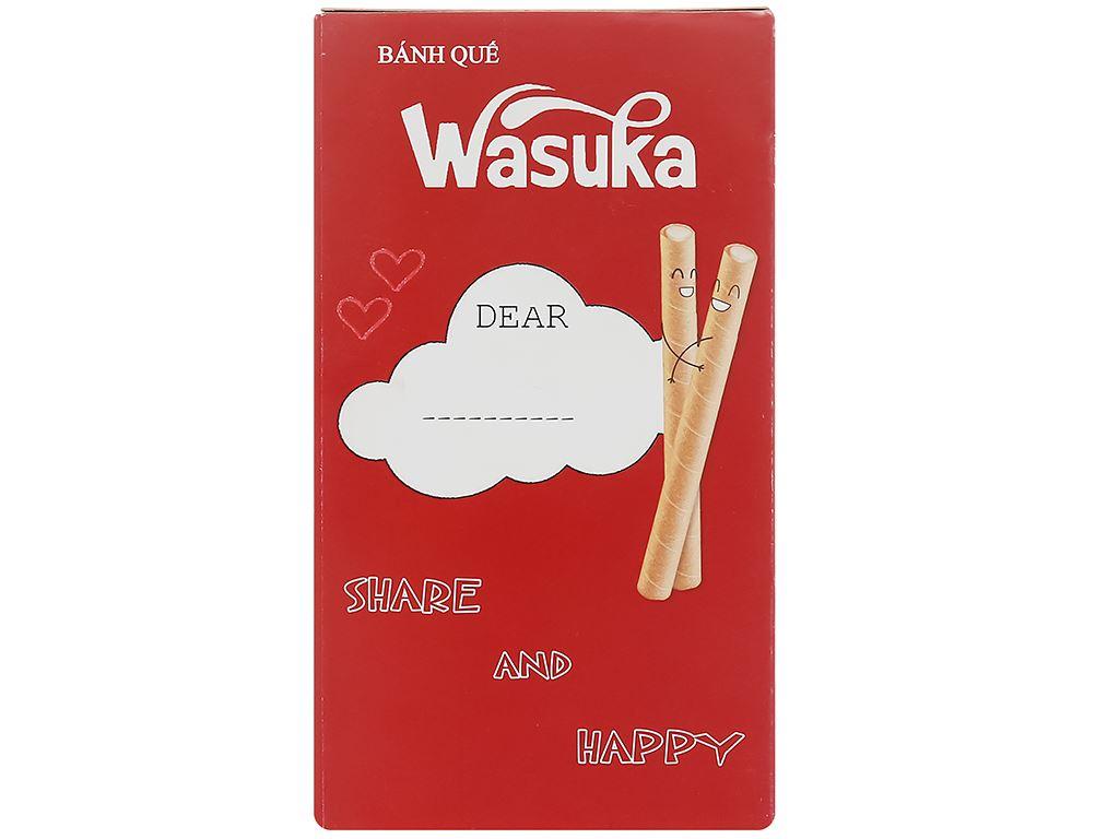 Bánh quế vị phô mai Wasuka Cigarku hộp 48g 1