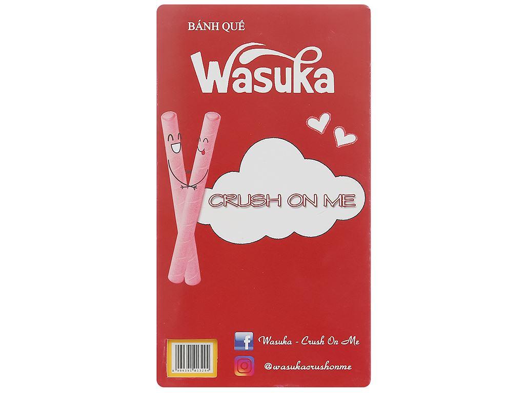 Bánh quế vị phô mai Wasuka Cigarku hộp 48g 2