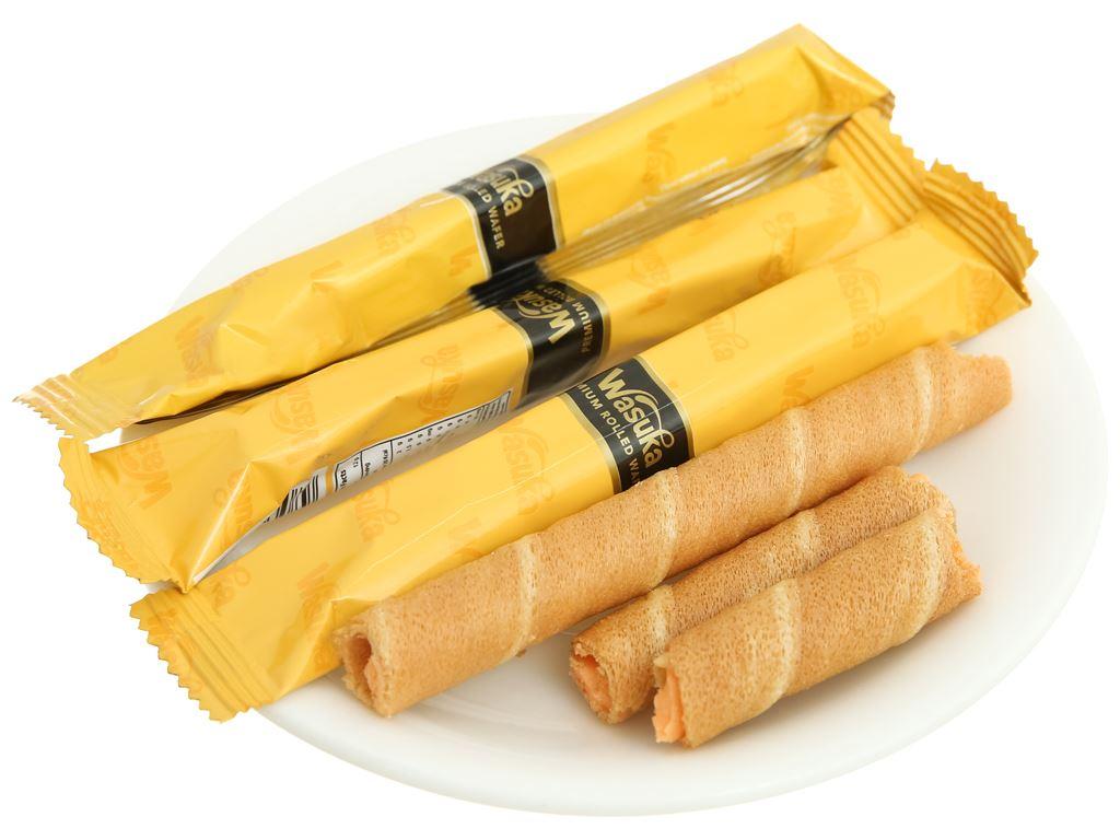 Bánh quế vị phô mai Wasuka Cigarku hộp 48g 4