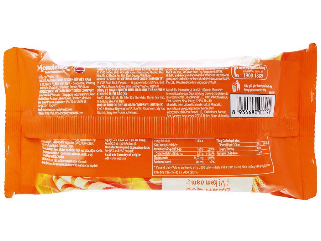 Bánh quế vị kem cam Cosy gói 132g 2