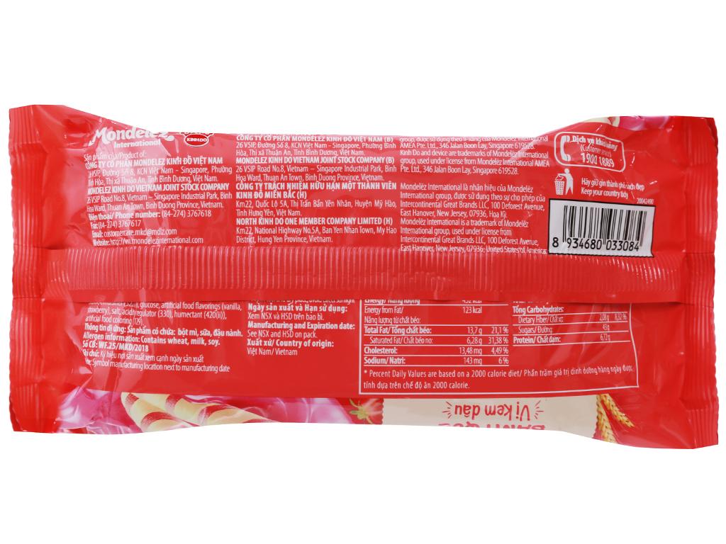 Bánh quế vị kem dâu Cosy gói 132g 2