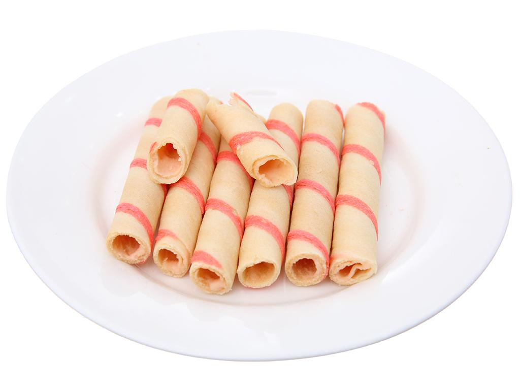 Bánh quế vị kem dâu Cosy gói 132g 5