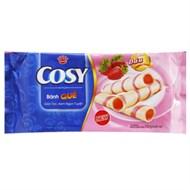 Bánh quế Cosy nhân kem dâu 132g