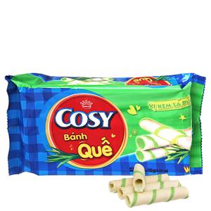 Bánh quế Cosy vị kem lá dứa 132g