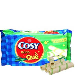 Bánh quế vị kem lá dứa Cosy gói 132g