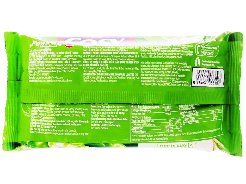 Bánh quế vị kem lá dứa Cosy gói 132g 1