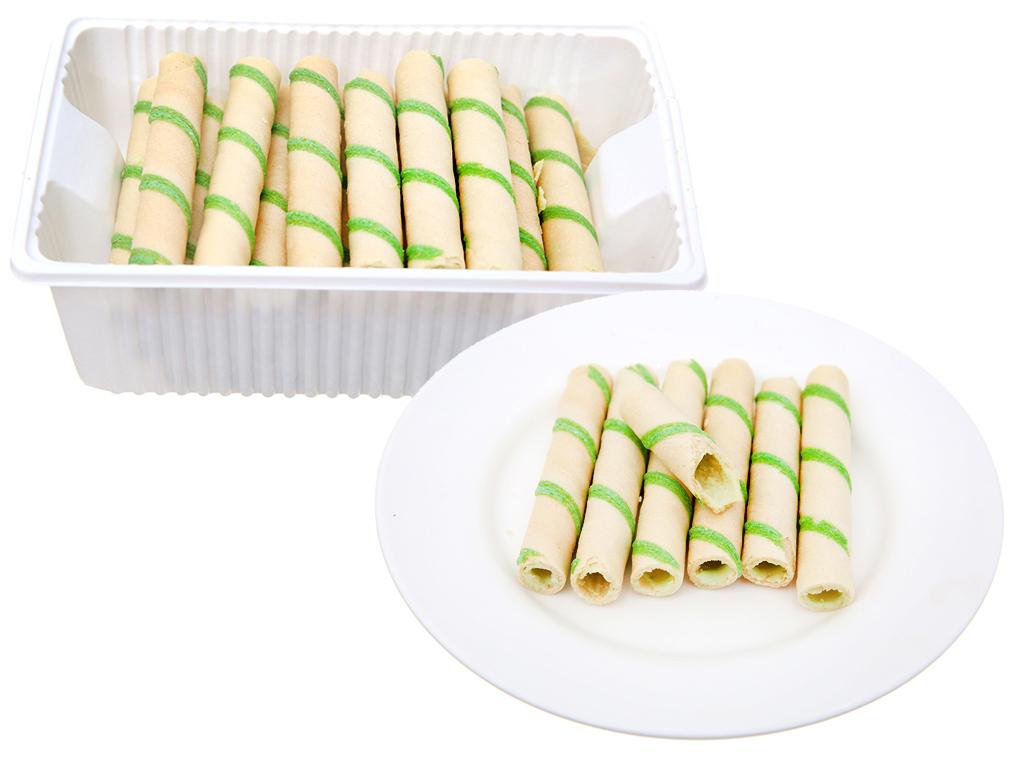 Bánh quế vị kem lá dứa Cosy gói 132g 5