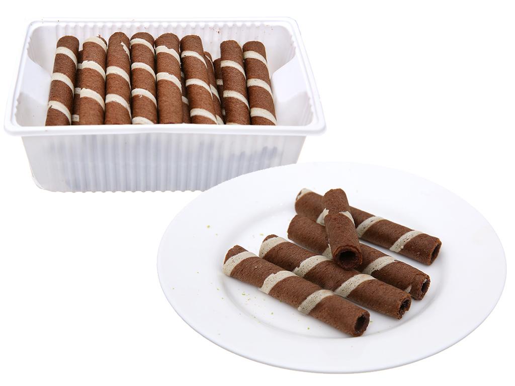 Bánh quế vị kem sô cô la Cosy gói 132g 9