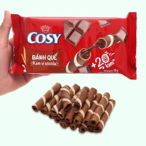 Bánh quế vị kem sô cô la Cosy gói 132g