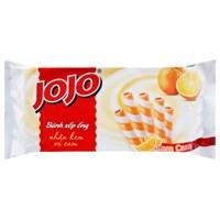 Bánh quế Jojo nhân kem cam 125g