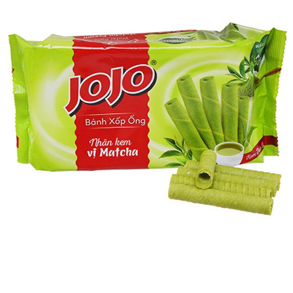 Bánh quế Jojo kem trà xanh 125g