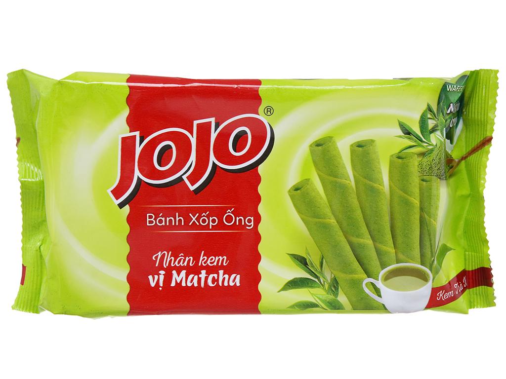 Bánh quế Jojo nhân kem vị trà xanh 125g 2